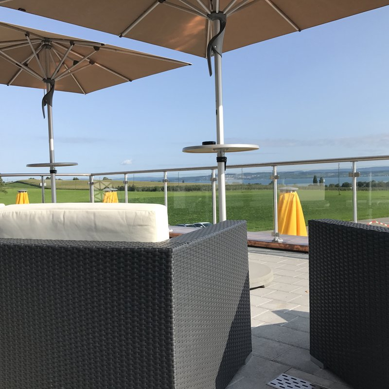 Panoramalounge Terrasse