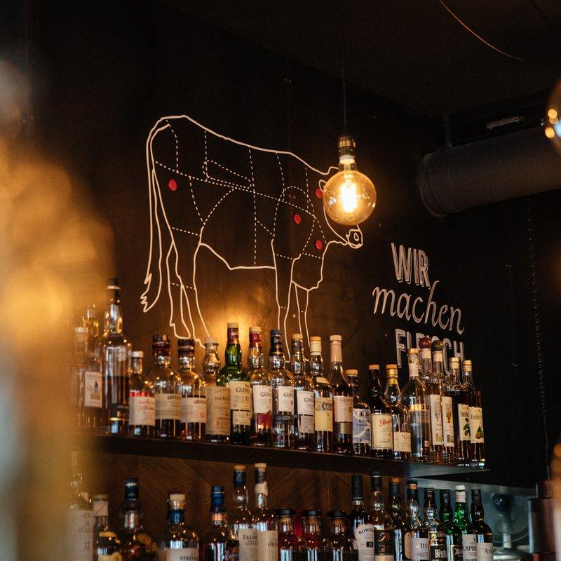 Grossartige Whiskyauswahl
